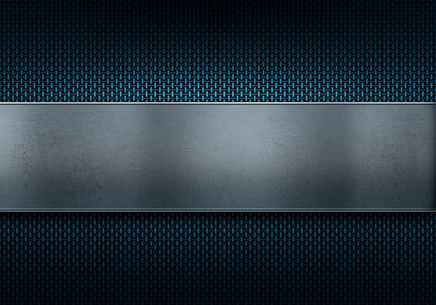 배경에 대 한 추상적 인 현대 블루 탄소 섬유 질감 소재 디자인