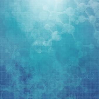 Abstract molecules medical