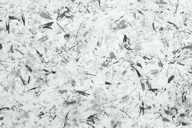 Abstract monochrome paint background texture. brushstrokes of paint. modern art. contemporary art. random watercolor drips.