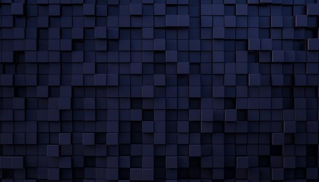 Абстрактный фон мозаики в голубых и enre оттенках. 3d визуализация. никто