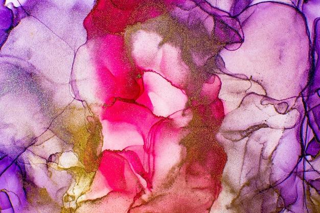 Абстрактная разноцветная мраморная текстура фон.