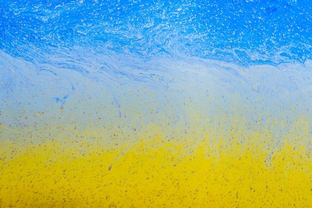 抽象的な色とりどりのシャボン玉の背景 無料写真