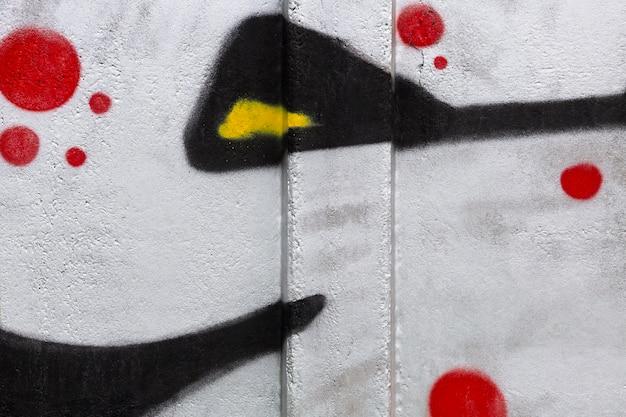 抽象的な壁画の落書きの背景
