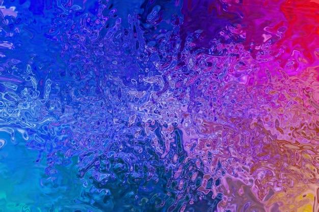 Абстрактный мистический и фантастический фон. металлическая разноцветная фактура, голографическая переливающаяся поверхность, морщинистая фольгированная пастель.