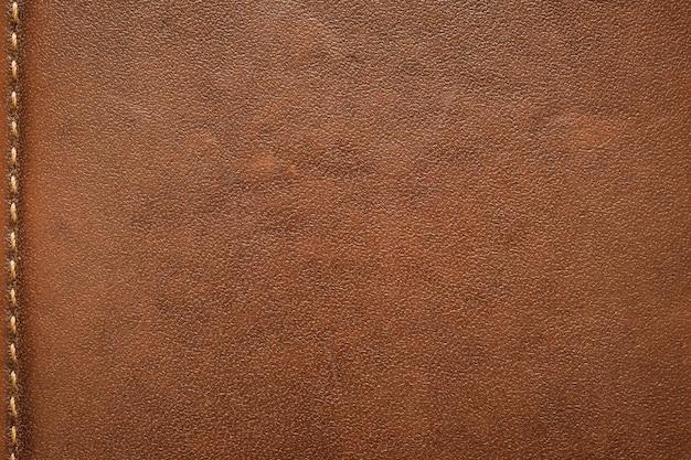 Абстрактный фон модель текстуры натуральной коричневой кожи