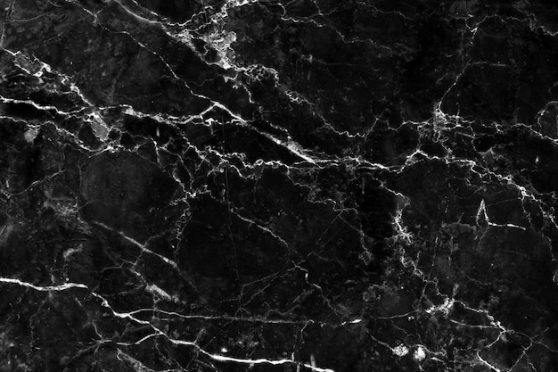 Abstract naturalblack marble for background