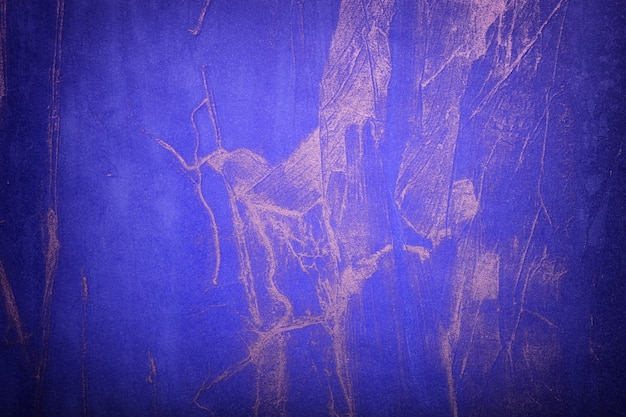 Abstract  navy blue and silver colors with dark vignette. watercolor painting on canvas with sapphire gradient.