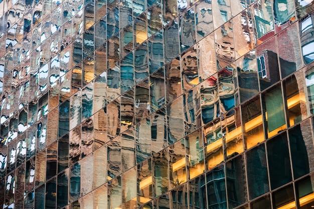 ニューヨークの抽象的な背景
