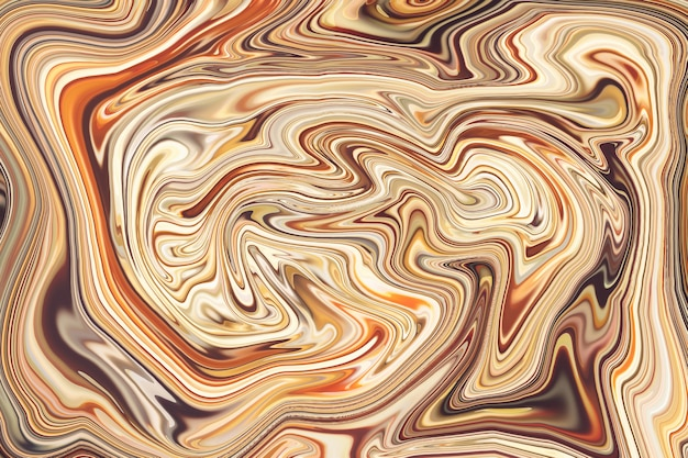Abstract ocean, background with defocused golden lights for christmas, new year, holiday, party . liquid marble pattern. colorful marble backdrop.