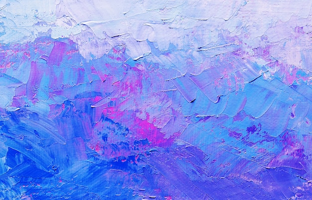 キャンバス、背景に抽象的なオイルペイントテクスチャ