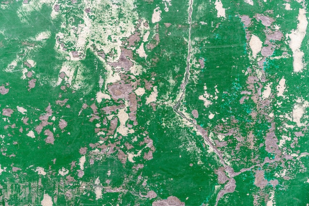 Abstract old and abandoned crack epoxy green floor texture. perfect for background.