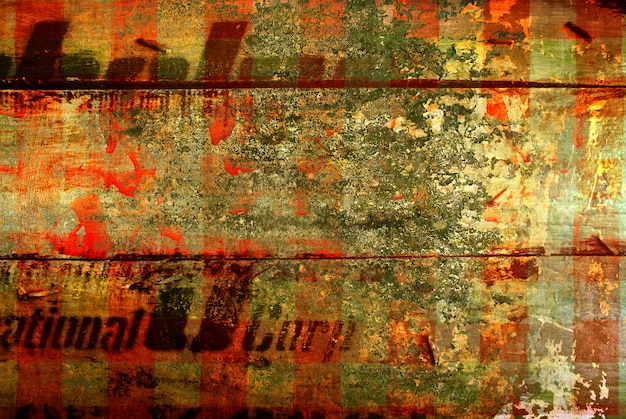 Abstract the old grunge wall for space