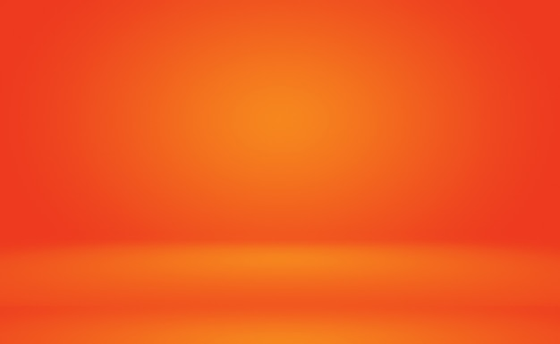 Abstract orange background layout design,studio,room, web template ,business report with smooth circle gradient color.