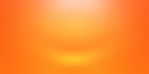Абстрактный дизайн макета оранжевый фон, студия, комната, веб-шаблон, бизнес-отчет с плавным кругом градиентного цвета.