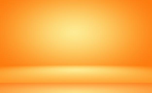 추상 오렌지 배경 레이아웃 디자인, 스튜디오, 룸, 웹 템플릿, 부드러운 원 그라데이션 색상으로 비즈니스 보고서.