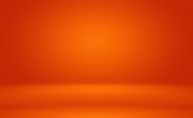 Astratto sfondo arancione layout designstudioroom web template business report con cerchio liscio g...