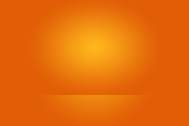 Abstract orange background layout designstudioroom web template business report with smooth circle g...