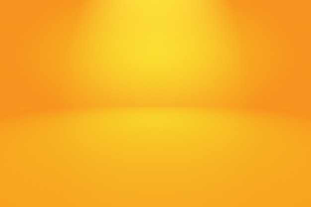 Abstract orange background layout