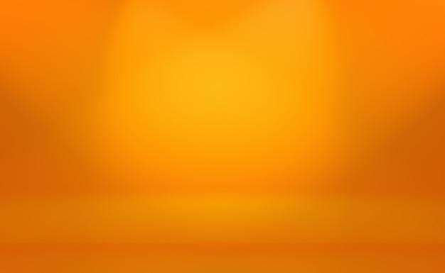 Абстрактный оранжевый фон