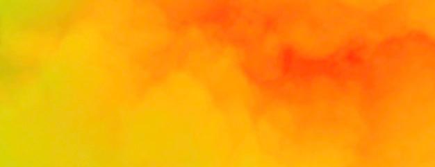 Abstract orange clouds. premium photo