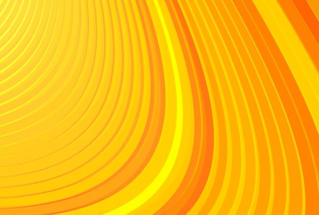 추상 오렌지 색 곡선 배경