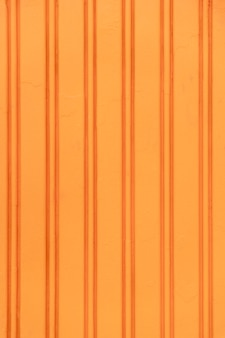 Abstract orange steel wall