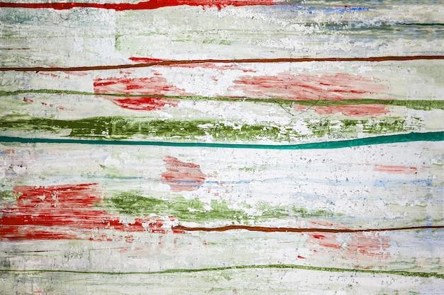 Абстрактная краска фона цветные линии и брызги акриловой краски на белой поверхности стены высокого q ...
