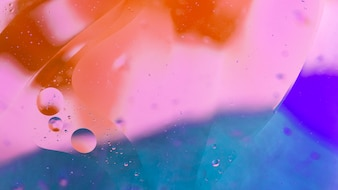 Abstract painted background with air bubble