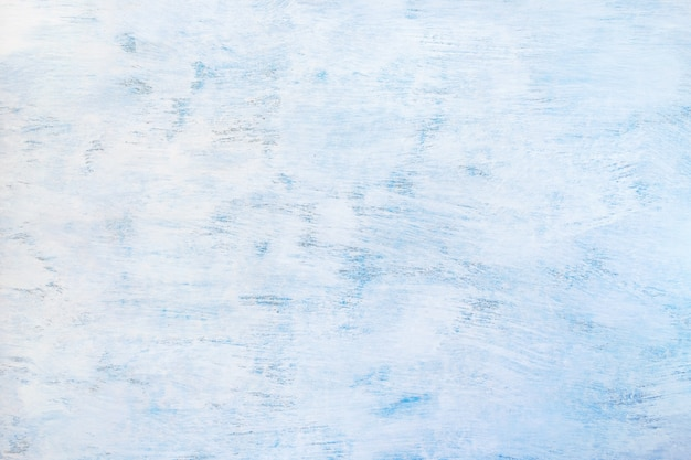 Abstract painted light blue background. blue wooden texture