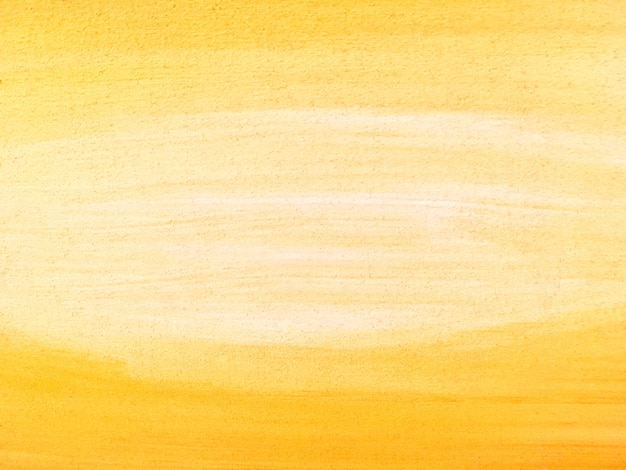 Abstract painting art background yellow and white colors.