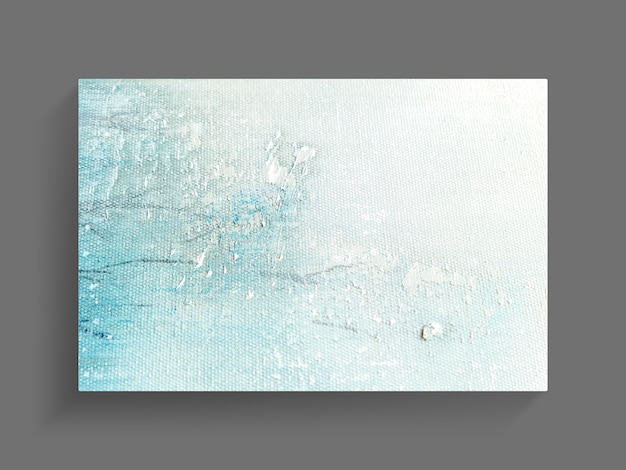 Abstract painting art on canvas texture background. close-up image.