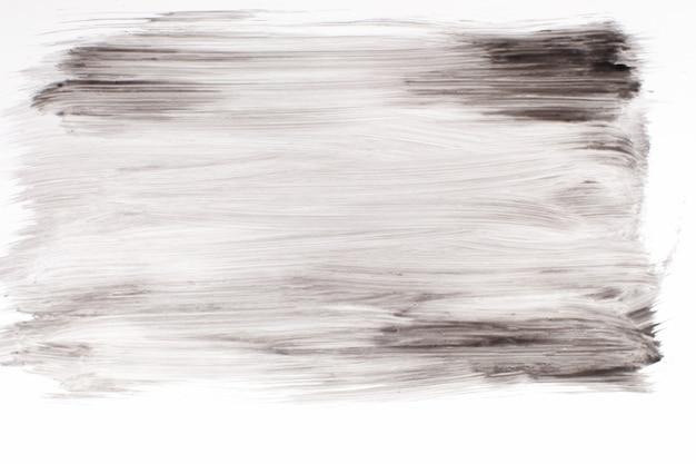 Абстрактная живопись искусство терапии монохромный черный белый современная концепция