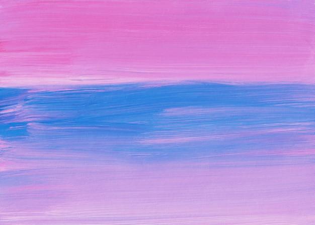 Абстрактная живопись фоновой текстуры, пастельные розовые и синие