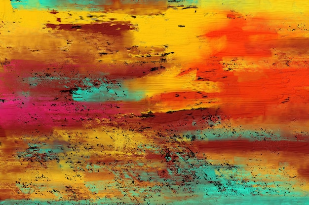 Abstract  painting background.