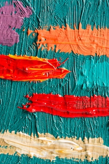 Abstract painting poster.  for a painter exhibition