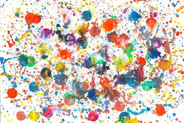 カラフルな水彩画の抽象絵画。