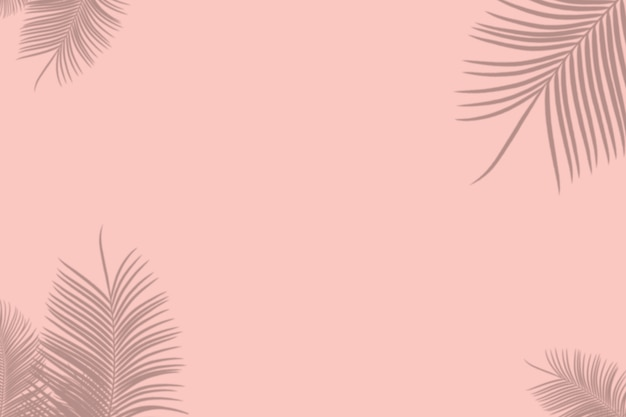Абстрактная тень пальмовых листьев