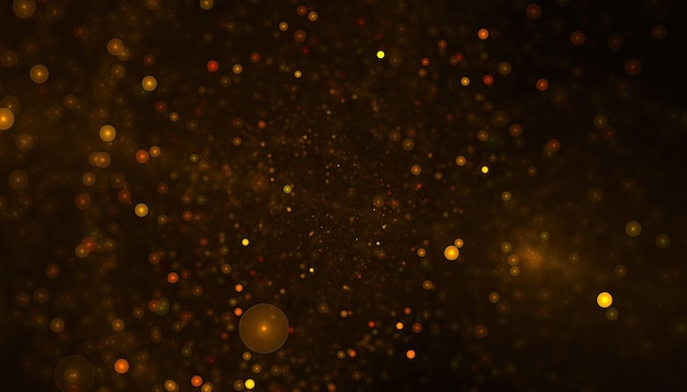 Particelle astratte o sfondo glitterato
