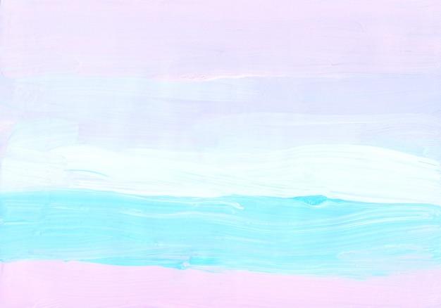 Абстрактный пастельный синий, розовый и белый фон