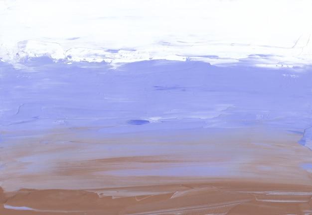 Абстрактный пастельный коричневый, синий и белый фон