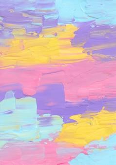 Абстрактный пастельный красочный фон