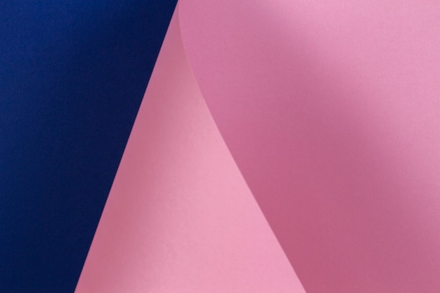 Abstract pastel pink and blue paper texture wall