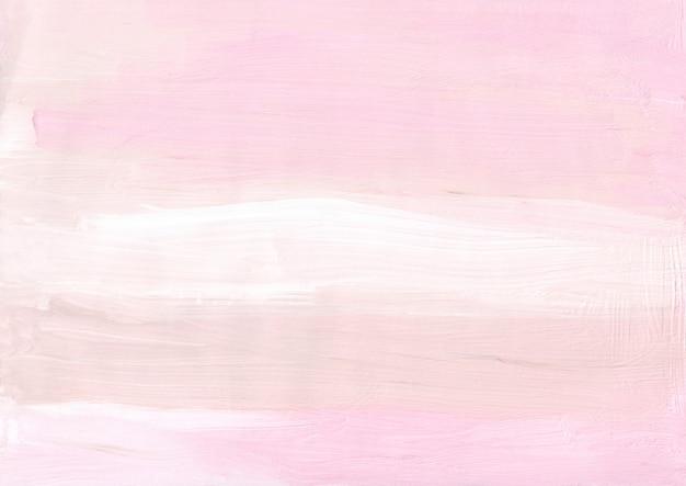 Абстрактная пастельная розовая, кремовая, белая фоновая текстура
