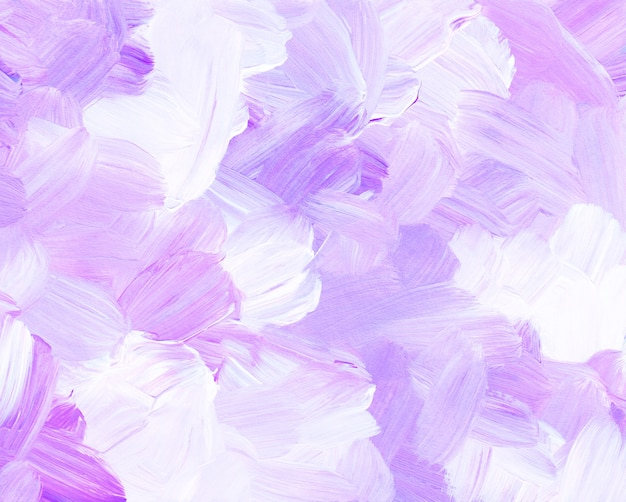 Abstract pastel violet and white painting background
