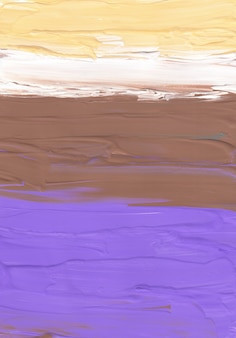 Abstract pastel yellow brown purple and white background