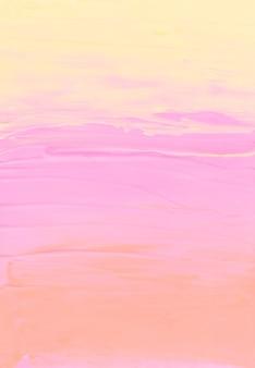 Абстрактный пастельный желтый, розовый и персиковый фон