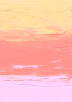 Абстрактный пастельный желтый, розовый и персиковый цвет фона