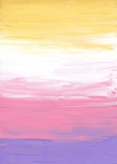 Abstract pastel yellow, pink, purple and white background
