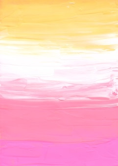 Abstract pastel yellow, pink and white background