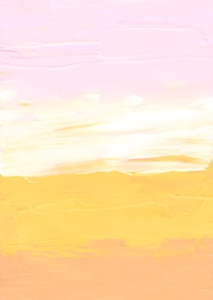 Abstract pastel yellow, pink and white textured background